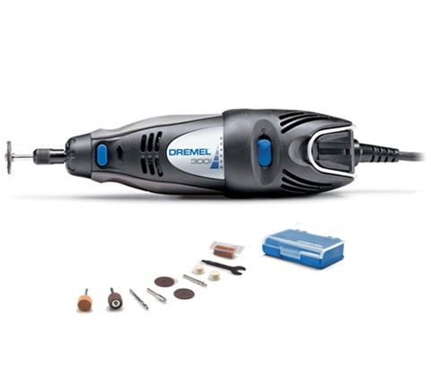 Dremel  300 Series  5,000 to 35,000 RPM Variable Speed Rotary Tool with 10 Accessories Cod. DRE300