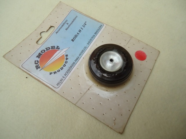 "RC Model Products Roda Bequilha 1 3/4""  Cod. RC1402"