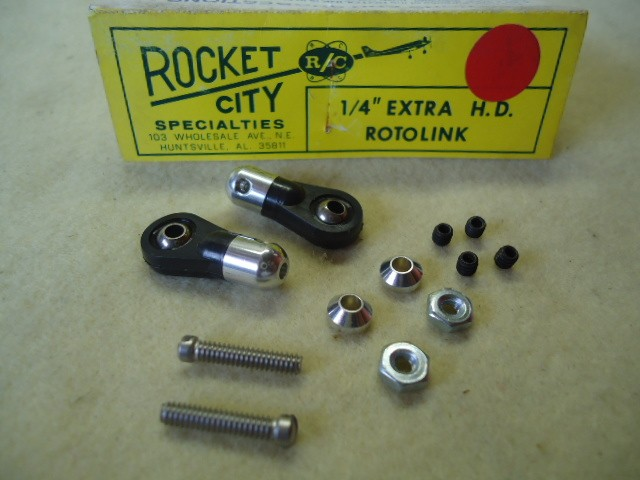 "ROCKET CITY SPECIALTIES 1 / 4"" Extra HD Rotolink  Cod. ROCQ 1557"