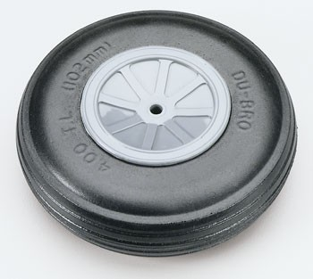 "4"" Dia. Treaded Lightweight Wheel  Cod. 400TL"