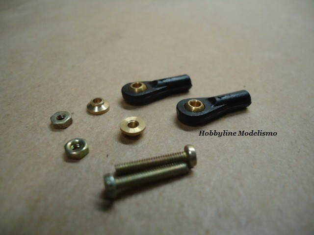 Ball and roller link  4.8 x 2 x 18mm  Cod. 8855/2
