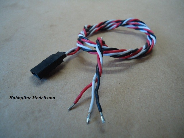 Ext .60cm Female 22AWG Twisted  Cod. 9722