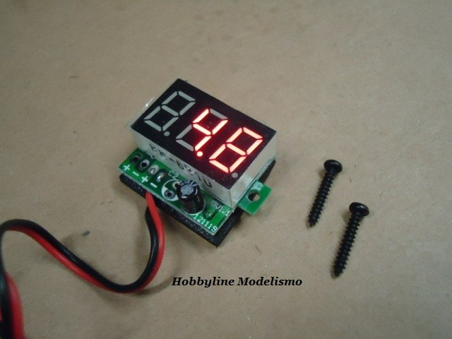 On-Board LED RX Voltage Display  Cod. 18825