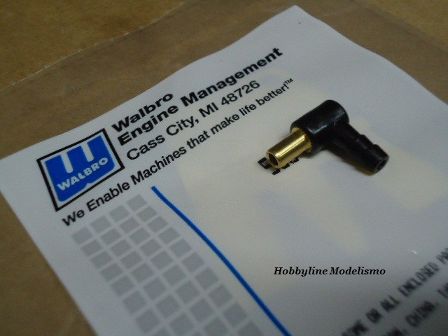 WALBRO 90 Degree Gás Inlet Fitting Cod. WT90