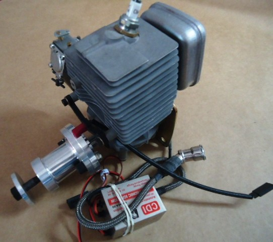 Zenoah G38 Engine CDI Ignition  (2.3 cu in) (ZENE38A)