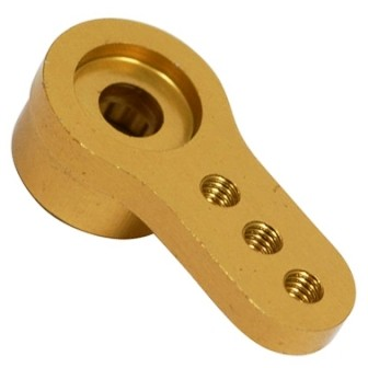 "MEIO BRACO DE SERVO ALUMINIO ""MACHINED"" SHORT - JR/AIR Cod. HAN 3532"