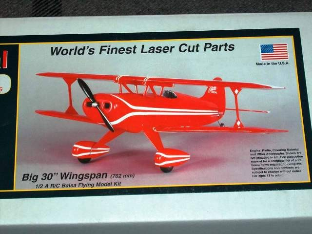 HERR PITTS KIT ESPECIAL  1/2 R/C SPORT SCALE Cod.  HRR507