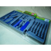 Super Tool  Kit Ferramentas C/ 25 Pc's  Cod. MK25