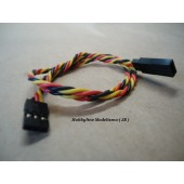 Twisted 45CM Servo Lead Extention (JR) 22AWG  Cod. 9712