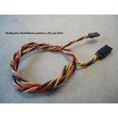 Twisted 60CM Servo Lead Extention (JR) 22AWG  Cod. 9711