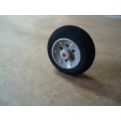 Roda Bequilha Super Light Wheels D25xH10 Cod. 9892