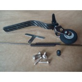 Carbon Fiber Tail wheel set 26cc~30cc Gas Plane Cod. 21927
