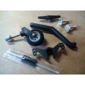 Tail Wheel System. w/ Steering & Spring 20-60 Size Cod. 4349