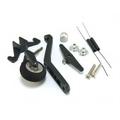 Tail Wheel System. w/ Steering & Spring 40-90 Size Cod. 4350