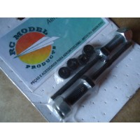 "RC Model Eixos de Roda 5 / 32""  ( 4mm ) Completo Cod. RC532"